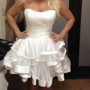 Maggie Sottero Couture bridal dress, short